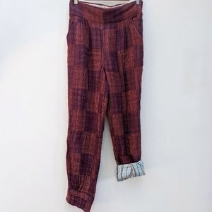 Ace & Jig Harlow Pant in Cabaret Size L